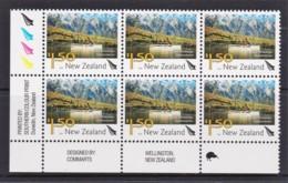 New Zealand 2004 Scenic $1.50 Lake Wakatipu Control Block MNH, 1 Kiwi - New Zealand