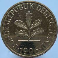 Germany 10 Pfennig 1996 F - PROF - 10 Pfennig