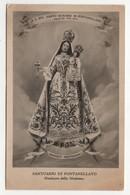 Santino Cartolina Antico Non Viaggiata Madonna Del Rosario Di Fontanellato - Parma - Religion & Esotericism