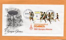 Dominica 1980 FDC - Dominica (1978-...)