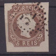 PORTUGAL : N° 9 . OBL . TB . 1856/58 . - 1855-1858 : D.Pedro V