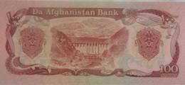 Billet D'Afghanistan 100 Afghanis 1979  Pick 58/A Variété SH358 à 2 Signatures Neuf.UNC - Afghanistan