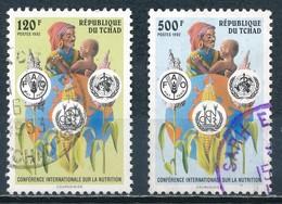 °°° CIAD TCHAD - Y&T N°536/38 - 1992 °°° - Ciad (1960-...)
