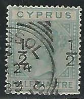 CHIPRE.- 1882.- 1/2 PENNY Nº 14 - Chipre