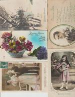N171  Lot 100 CPA Différentes Fantaisie - 100 - 499 Postcards