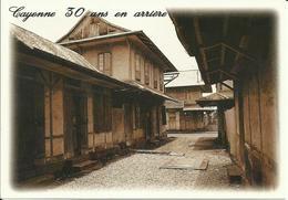 CARTE POSTALE - GUYANE - CAYENNE 30 ANS EN ARRIÈRE - Quartier Rue Lt Goinet - Editions G. DELABERGERIE N° 879 - Cayenne