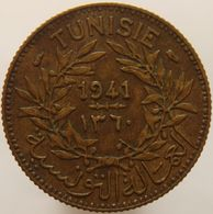 Tunisia 1 Franc 1941 XF / UNC - Tunisia