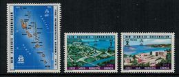 New Hebrides // 1960-1980 // 1976 // 1ère Assemblée Représentative Timbres Neufs** MNH No. Y&T 435-437 - Légende Anglaise