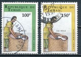 °°° CIAD TCHAD - Y&T N°823/24 - 1997 °°° - Ciad (1960-...)