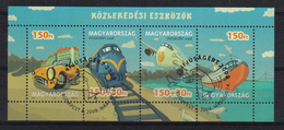 Hungary 2008 Transport Sheet Y.T.  4258/4261 (0) - Blocks & Sheetlets
