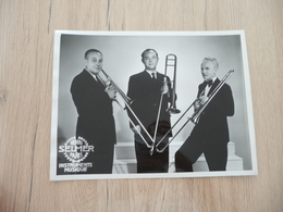 Musique Photo Pub Selmer Pupitre Trombone Orchestre National   17.5 X 23.4 - Photos