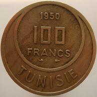 Tunisia 100 Francs 1950 XF - Tunisia