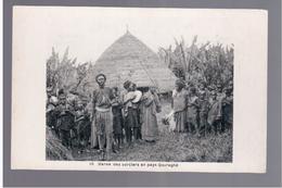 ETHIOPIE - Danse Des Sorciers En Pays Gouraghé Ca 1910 OLD POSTCARD - Ethiopië