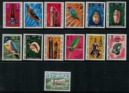 New Hebrides // 1960-1980 // 1977 // 25ème Anniversaire De L'accession Au Trône Timbres Neufs** MNH No. Y&T 463-475 - Légende Anglaise