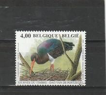 Belgique Oblitéré  2005  N° 3373  Faune.  La Cigogne Noire - Belgien
