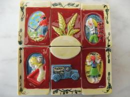 FEVE - FEVES EN SERIE - 2002 - TABLEAU DE LA TRADITION PUZZLE - Charms