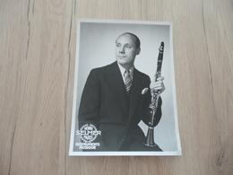 Musique Photo Pub Selmer Marcel Jean  Soliste Concerts Pas De Loups Clarinettiste Garde Républicaine    17.5 X 23.4 - Photos