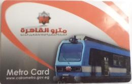 "Underground Metro ""Metro Card"" Cairo Egypt - Autres Collections"