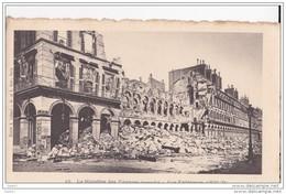 """Cpa Réf-JP-Vv-26 (  Dép-75 PARIS )   Le Ministère Des Finances """""""" Incendié """"""""  Vue Extèrieure 1870-71 - France"""