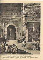 """N°232,Maroc La Fontaine Nejjarine à ..Col."""" Pour L'Enseignement Vivant """",30 X 24,Repro.Phot. Sur Gros Papier Année 60-70 - Photographie"""