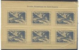 France, Libération, Vignettes Commémoratives Du Commando Anglais à Saint Nazaire Le 28 Mars 1942 ** - Liberation