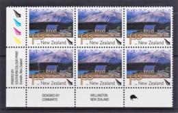 New Zealand 2004 Scenic $1.35 Church, Lake Tekapo, Control Block MNH, 1 Kiwi - New Zealand