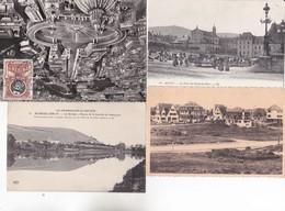 LOT DE 700 CARTES VRAC  De Tout Coucher Soleilcouleur N B Walladeeglise Animation Peinturelourdes Corridaargenteuil Alsa - Postcards