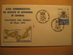 VALVERDE Del HIERRO 1984 Dog Dogs Perro Perros Arm Tenerife Islas Canarias Canary Islands España Spain Cancel Cov - 1931-Hoy: 2ª República - ... Juan Carlos I
