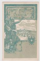 VERONA, Circolo Militare - F.p. - Anni '1900 - Verona