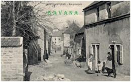 21 MONT-SAINT-JEAN - Rue Principale - Autres Communes