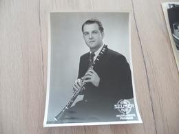 Musique Photo Pub Selmer Clarinettiste Clarinette  17.5 X 23.4 - Photos