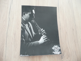 Musique Photo Pub Selmer Reviellotti Clarinettiste Clarinette  17.5 X 23.4 - Photos