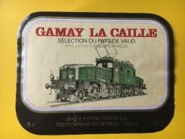 9192 - Locomotive Crocodile Gamay La Caille Suisse - Treni