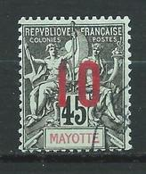 MAYOTTE 1912 . N° 28 . Oblitéré . - Used Stamps