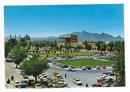 Iran Naghshe Jahan Square Isfahan Autos Opel Jeep Citroën Dyane VW Käfer Mercedes ED Dehdari - Iran