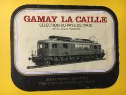 9190 - Locomotive électrique Bern-Lötschberg-Simplon Gamay La Caille Suisse - Treni