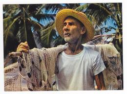 Seychelles N°7435 Pêcheur Mais Fier De L'être Fisherman édit Capricorne Port Louis - Seychelles