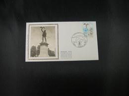 """BELG.1980 1993 FDC Soie/zijde (Roeselare) : """" Albrecht Rodenbach """" - 1971-80"""
