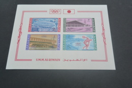 M5780- Bloc Imperf. MNh Umm Al Qiwain - 1964 - Olympics Tokyo MI.BL.1B - Summer 1964: Tokyo