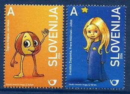 SLOVENIA 2006 Childrens Book Illustrations, MNH / **.  Michel 577-78 - Slowenien