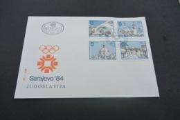 M5821- FDc MNh Yugoslavia 1982 -  - Winterolympics Sarah-jevo - Inverno1984: Sarajevo