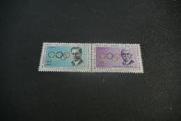 K20550 -set MNh Turkey 1967 -MI. 2061-2062 -Olympic Committee - Giochi Olimpici