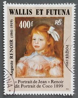 Wallis Et Futuna - YT N°411 - Auguste Renoir - 1991 - Oblitéré - Wallis Y Futuna