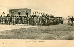 DJIBOUTI(TYPE) MILITAIRE - Gibuti