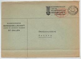 INTERO  POSTALE       ST.  GALLEN      PER    HEIDEN                 1943  (VIAGGIATA) - Entiers Postaux