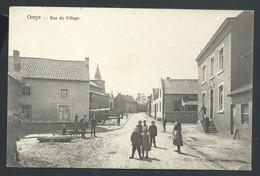 +++ CPA - OREYE - Rue Du Village - Carte Animée   // - Oreye