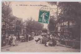 LES LILAS - Rue Du Pré Saint-Gervais - Tram - Tramway - Marché - ELD 27 - Les Lilas