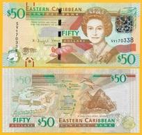 East Caribbean States 50 Dollars P-54b 2016 UNC - Caraïbes Orientales