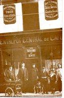 Laon : Entrepot Central De Café (carte-photo) - Laon