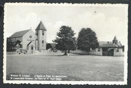 +++ CPA - WOLUWE ST LAMBERT - ST LAMBRECHTS WOLUWE - Eglise Et Place Du Sacré Coeur   // - Woluwe-St-Lambert - St-Lambrechts-Woluwe